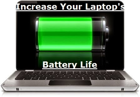 Tips To Increase Laptop Battery Life Hp, dell, lenovo & other Laptop