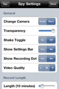 hack iphone camera apps
