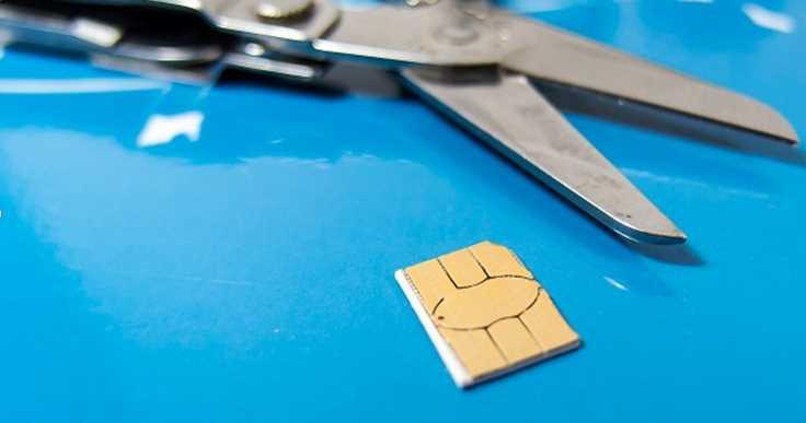 Micro SIM To Nano SIM Template