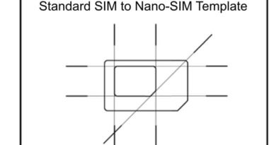 Micro SIM To Nano SIM Template – How To Make SIM Adapters Manually
