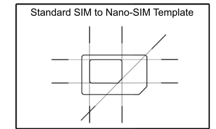 Micro Sim To Nano Template