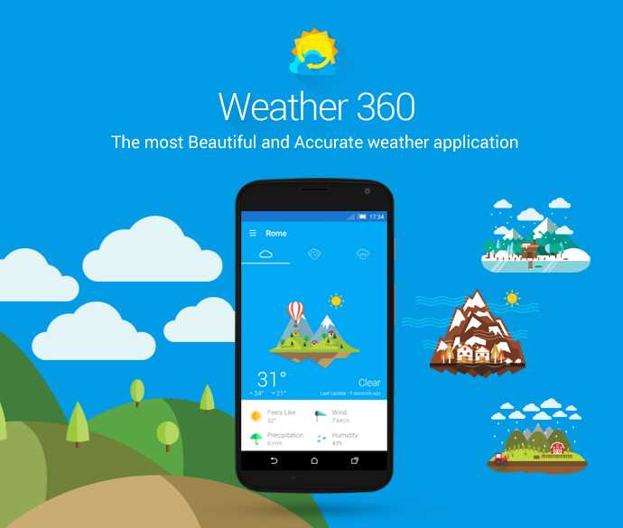 how to use weather app on iphone