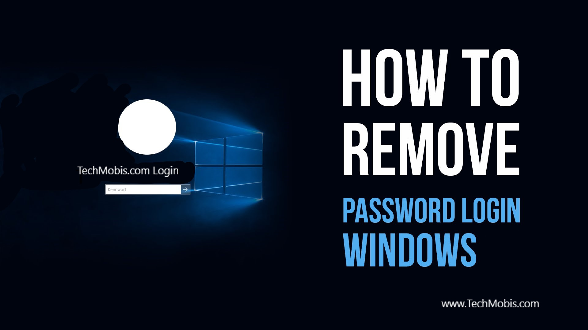 How to Bypass Windows 7 / 8 / 10 Login or Admin Password