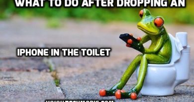 What to Do After Dropping an iPhone in the Toilet