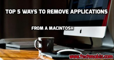 Top 5 Ways To Remove Applications From A Macintosh