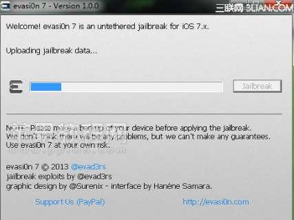Jailbreak 10.3/iOS 11/iOS 12 With Evasi0n