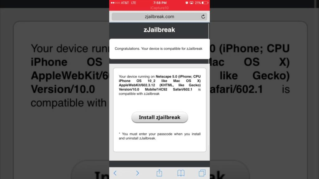 jailbreak ios without compute