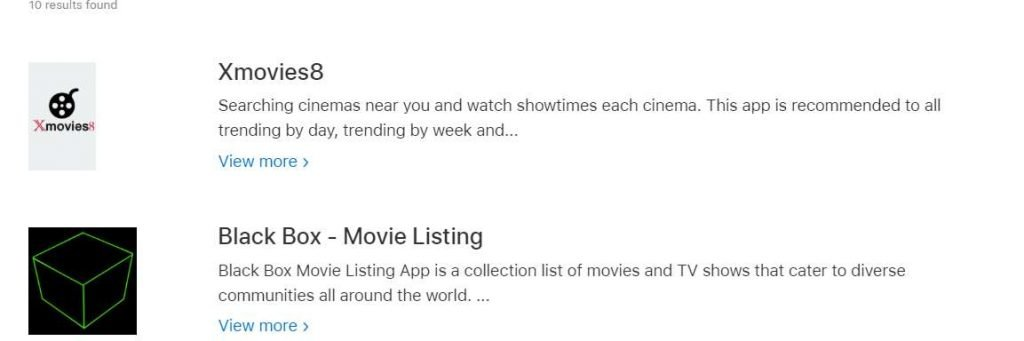 Xmovies8 apps