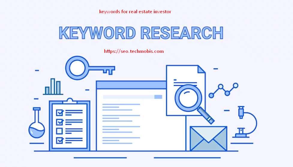 keywords for real estate investor