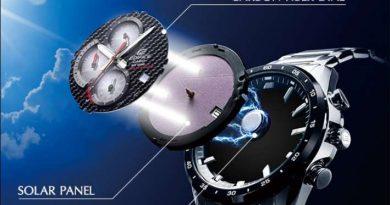 Seiko solar - Solar Powered Watches